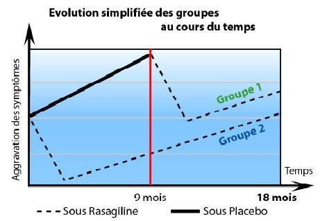 Évolution simplifiée des groupes au cours du temps